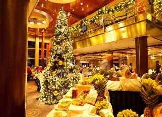 , Weihnachtsgans und Lebkuchenparfait – Genussvolle Festtage an Bord der Mein Schiff Flotte