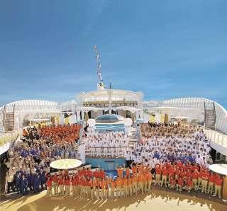 , AIDA Cruises als Bester Arbeitgeber 2014 im Tourismus ausgezeichnet