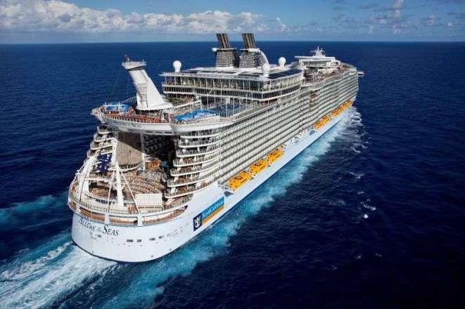 Allure Of The Seas Werft Auftrag drastisch runtergefahren