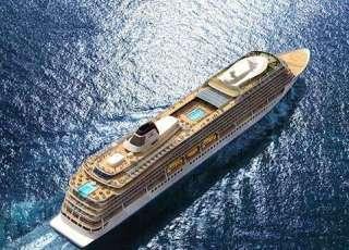 , Viking Ocean Cruises lässt ersten Neubau in der der Fincantieri Werft zu Wasser