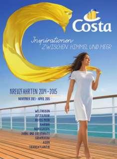 , Costa Kreuzfahrten: Was kostet was? Getränkepreise, SPA oder Friseur hier finden Sie Alles!