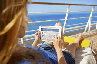 , Ab sofort aktuelle Tageszeitungen an Bord – AIDA eröffnet kostenpflichtige Media Lounge