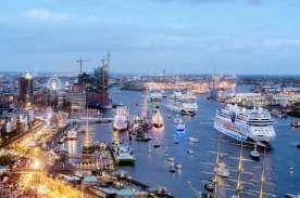 AIDAmar Taufe im Hamburger Hafen 12.05.2012