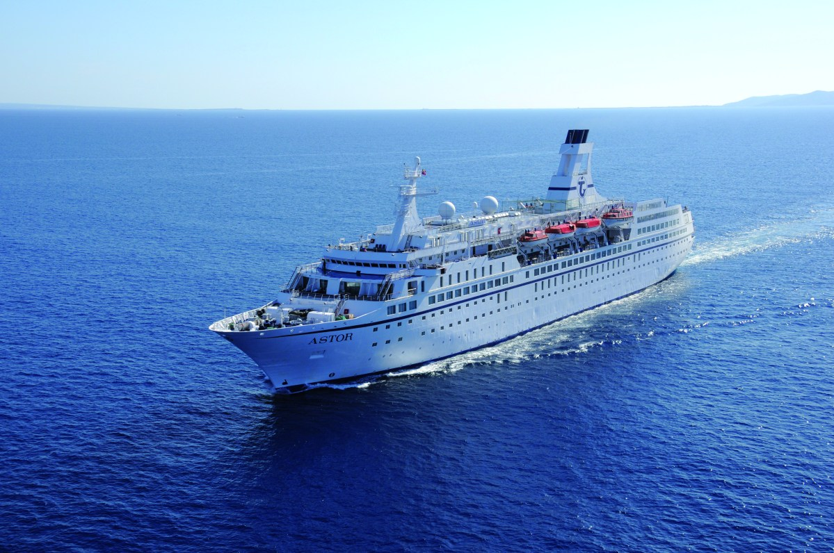 Reisebericht: Erste Bilder der MS Astor
