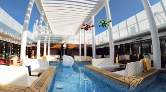 AIDAprima_Drohnenrace_Patio Deck