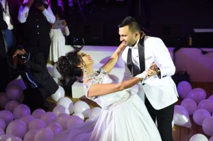 First private cruise wedding on Costa Fascinosa_Sana & Adel White Night 2