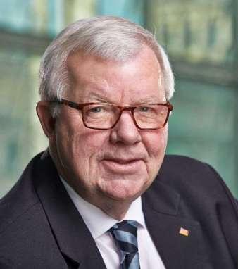 Dr. Michael Fuchs, stellvertretender Vorsitzender der CDU/CSU-Bundestagsfraktion