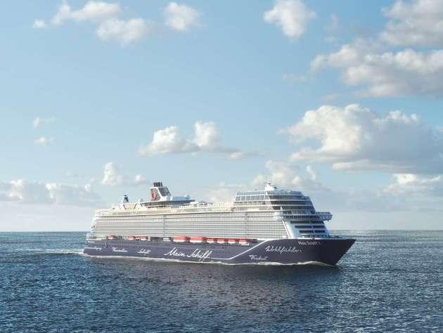 mein Schiff1 Jungfernfahrt