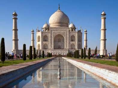 India, from Mumbai - Agra, Taj Mahal