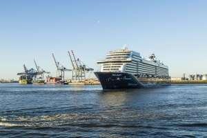 , Neue Mein Schiff 1 erstmals in Hamburg – Fünfter Schiffsneubau von TUI Cruises wird Freitag in der Hansestadt getauft