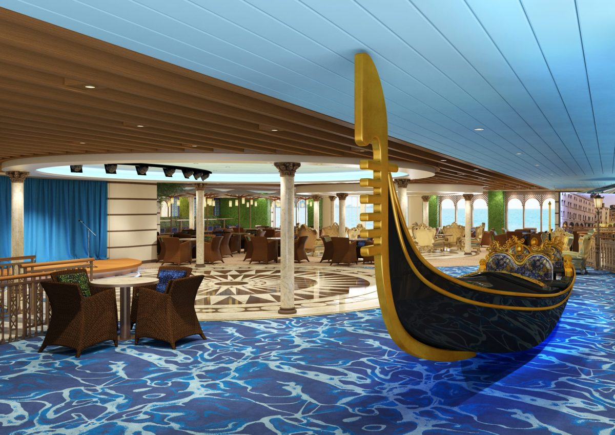 Costa Venezia: nur kurz für europäische Gäste buchbar...