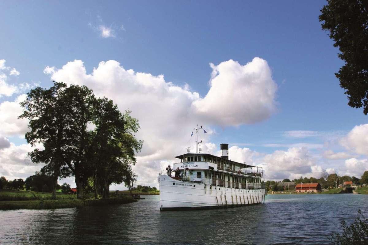 Nostalgische Schiffsreisen auf dem Göta-Kanal