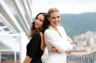Michelle Hunziker and Aurora Ramazzotti