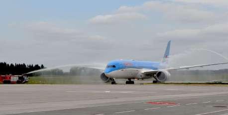airport rostock landung dreamliner 29-6-2018 foto angelikaheim 2