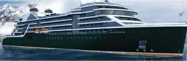 Seabourns neue Schiffe