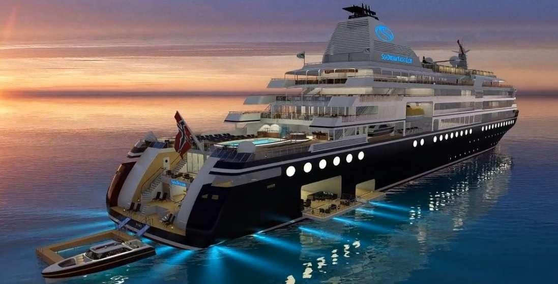 SeaDream Yacht Club bestellt neue Luxusyacht!