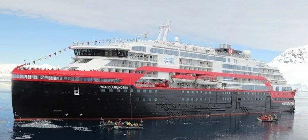 Expeditionsschiff Roald Amundsen