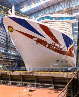 Schiffstaufe MS Iona Princess Cruises, Schiffstaufe als Auftakt zur Nordeuropa-Kreuzfahrt – Neues Flaggschiff von P&O Cruises mit LNG-Antrieb