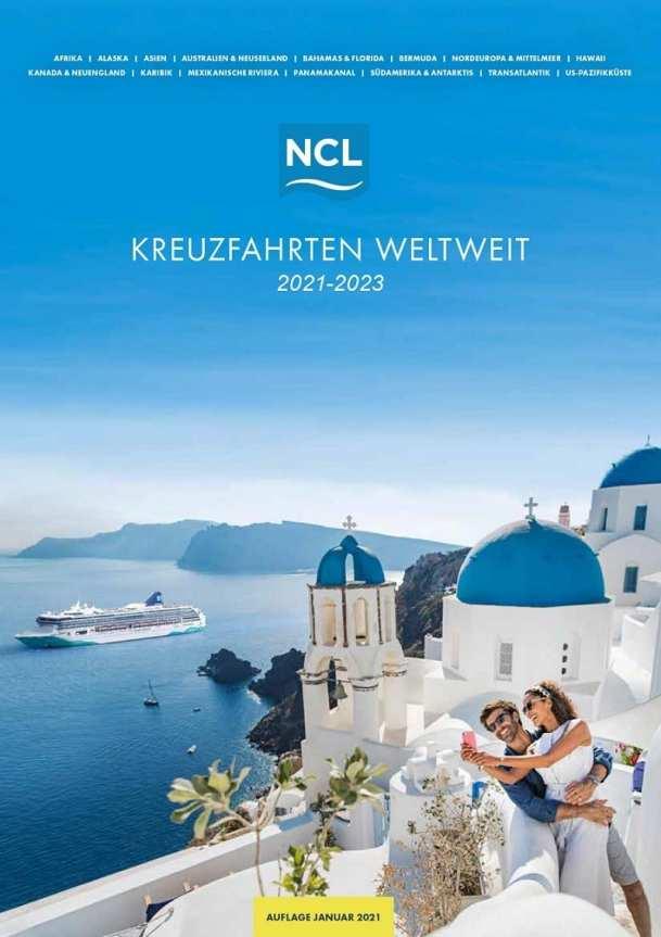 Norwegian neuer Katalog