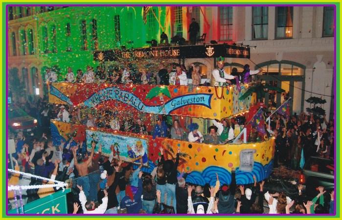 Krewe Babalu of Galveston Parade Floats