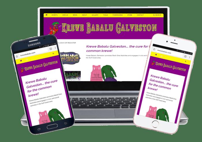 Help Krewe Babalu Website Help Section