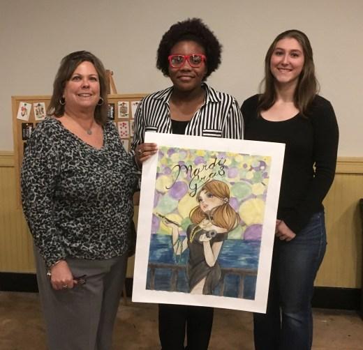 ZaMyria Hunter named 2017 Krewe Babalu Poster Contest winner