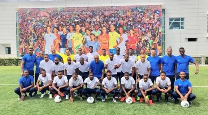 #FootballMatnik : Rodrigue CÉSAR «on travaille ensemble, on essaye de progresser ensemble…» (GoldCup)