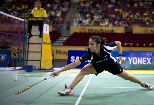 Saina Nehwal Photo credits: Indian Badminton League