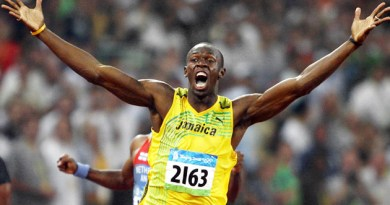 Usain Bolt is a livewire athlete