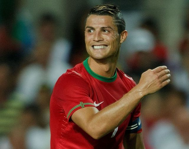 Cristiano Ronaldo  during World Cup Play-off match