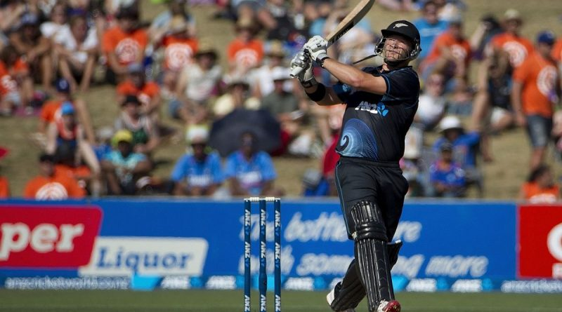Corey Anderson Cricket Match Ind Vs NZ