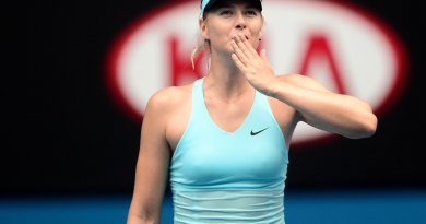 Maria Sharapova Australian Open news