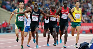 Rudisha beaten in Commonwealth