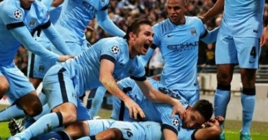 Manchester City chamipions league 2014