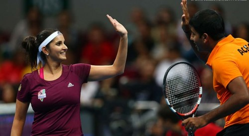 Indian Aces sania- rohan