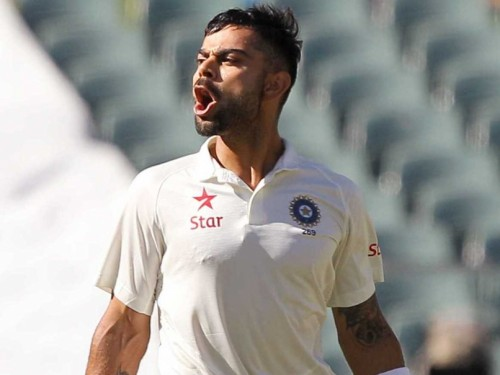 Virat Kohli in Auss on fire