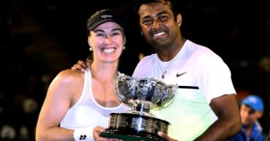 Paes Win Mixed Doubles