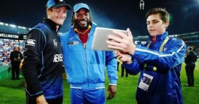 Martin Guptill New Zealand v West Indies: Quarter Final - 2015 ICC Cricket World Cup