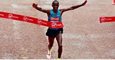 Kipchoge London marathon