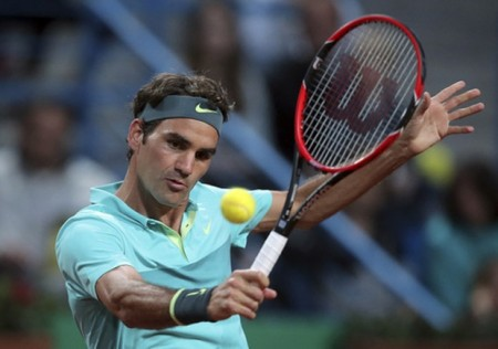 Federer at Istanbul final