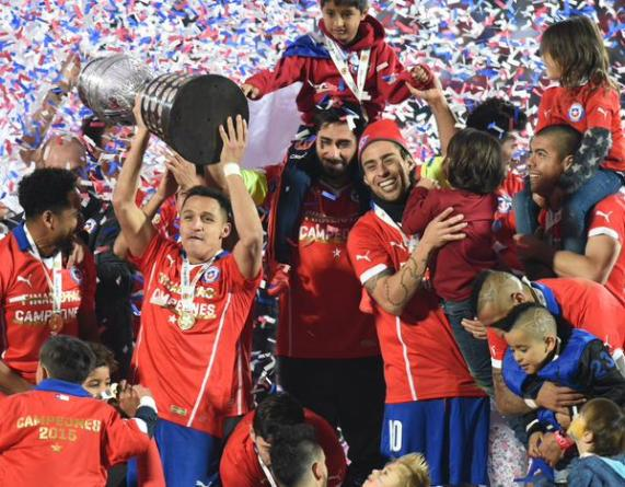 Chile Make History by Stunning Argentina in 2015 Copa America Final