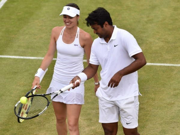 Paes into the mixed finals
