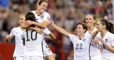 USA were the lone team in 2015 FIFA women's World Cup in Canada, against whom just one goal was scored in the tournament until they reached the semifinals. But against Germany, they were expected to run into vulnerability since the Europeans had the firepower to play down their opponents. Dramatic events of the 63rd minute, however, took the match away from Germany. USA's famous