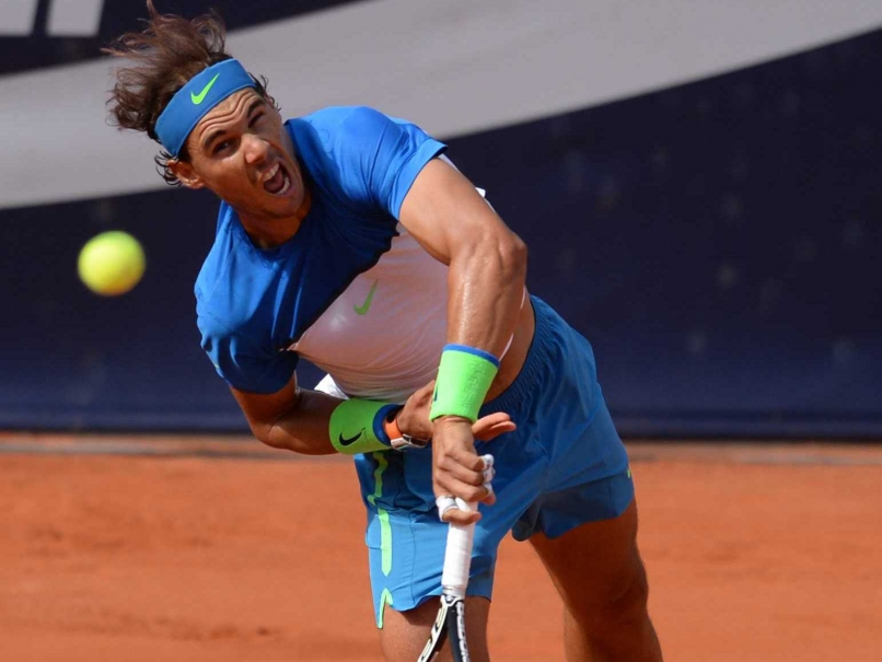 Nadal Plays Fognini