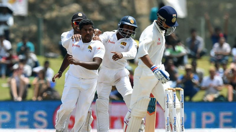 india vs sri lanka test cricket day 3
