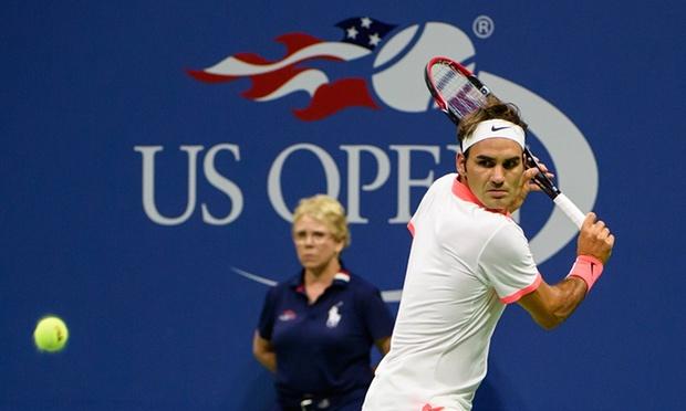Federer in US Open