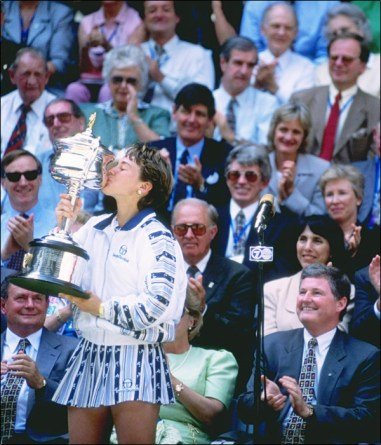 young Martina Hingis