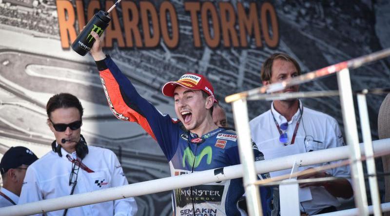 Valencia Lorenzo Wins 2015 MotoGP World Championship