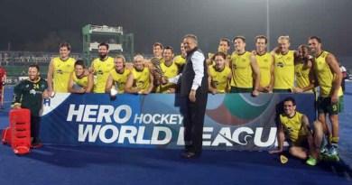 Australia Win Hero Hockey World League