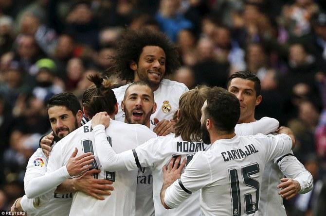 Real Madrid Dominant Performance